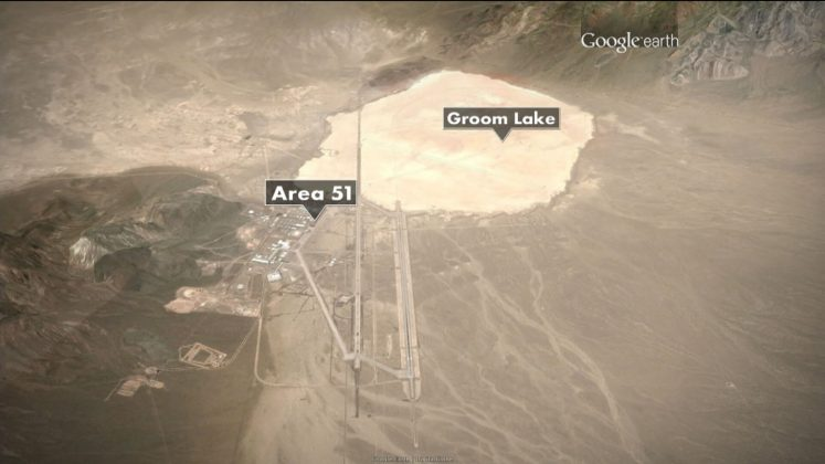 Area 51 Layout