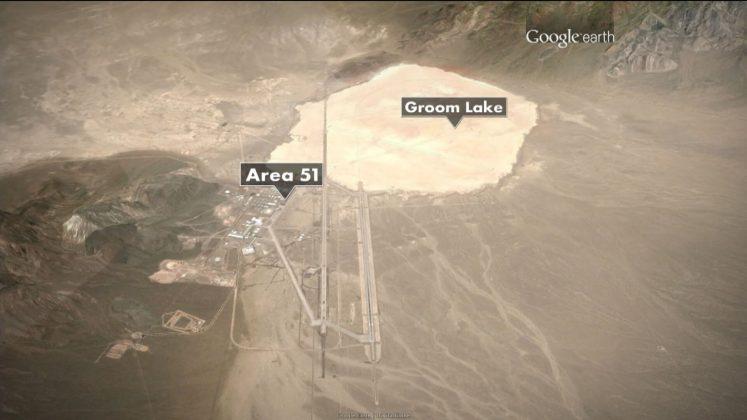 Area 51 Layout