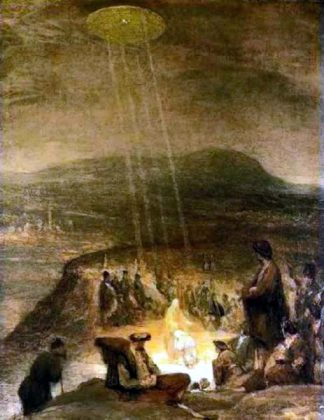 ufos in ancient paintings conspiracy podcast 321