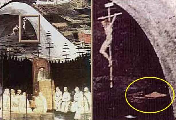 ufos in ancient paintings conspiracy podcast 12