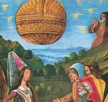 ufos in ancient paintings conspiracy podcast 9