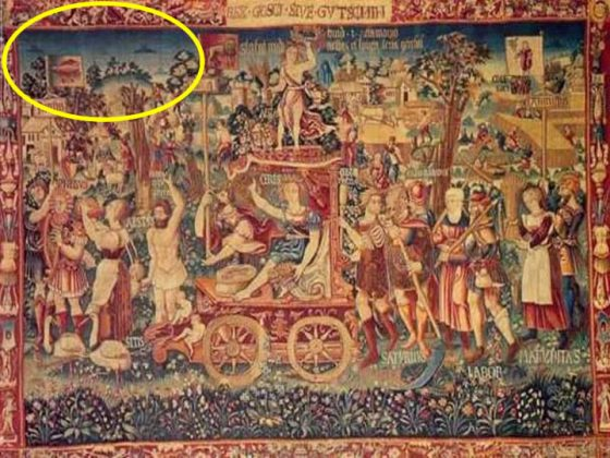 ufos in ancient paintings 1