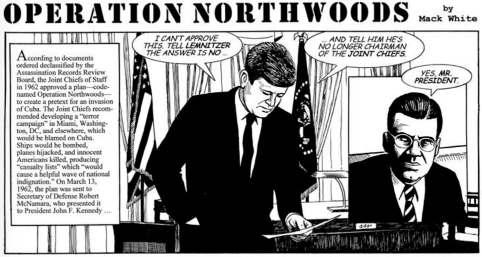 operation northwoods conspiracy podcast
