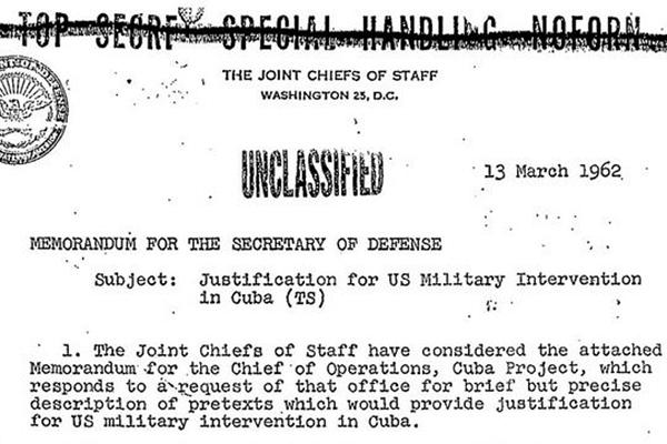operation northwoods documents